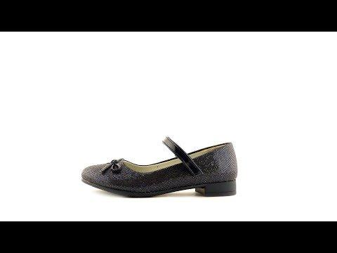 Школьные туфли для девочки на каблуке синие Clibee D87 Blue