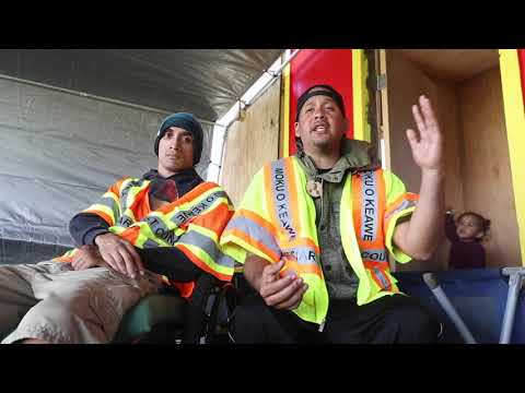 """Aloha Safety Checkpoint"" on Maunakea"