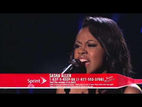 "Sasha Allen: ""Oh! Darling"" - The Voice US Season 4"
