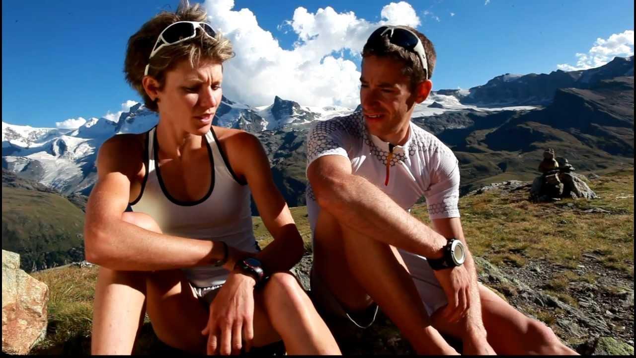 Laetitia Roux et Martin Anthamatten se disputent le plus bel endroit du parcours