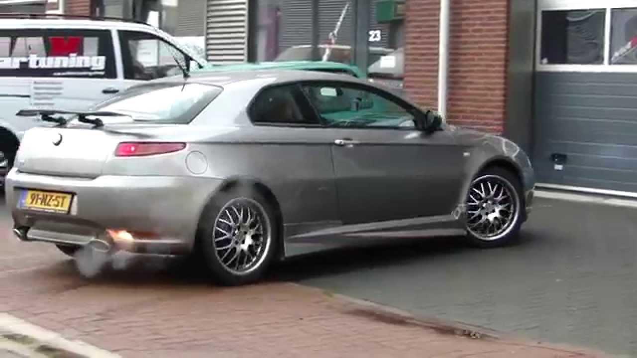 Alfa Romeo Gt Double Exhaust System Sportauspuff Sound