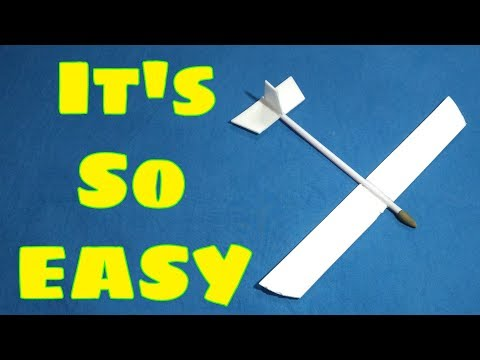 How to make a GLIDER (In just 5 mins)