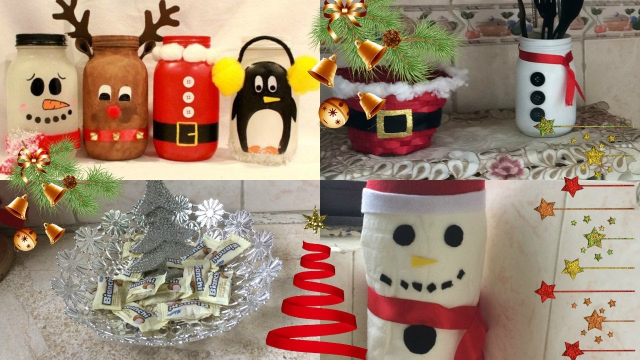 Ideas para decorar tu cocina en navidad tour por mi for Ideas faciles decoracion