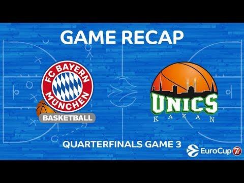Highlights: FC Bayern Munich - Unics Kazan