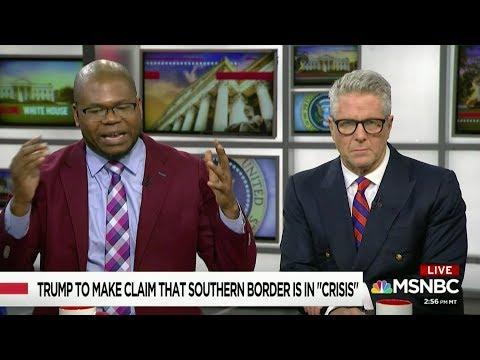 """Dr. Jason Johnson on #Trump's Upcoming """"Crisis"""" at Border pt 2/2 #WhereAreThePesos"""