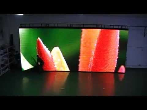 20mm souple affichage led cran rideau youtube. Black Bedroom Furniture Sets. Home Design Ideas