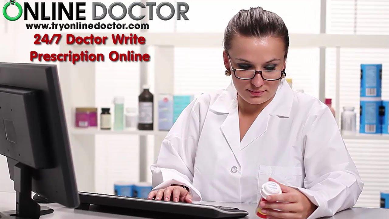 Doctor Write Prescription Online - YouTube