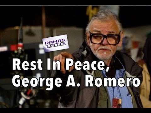 Rest In Peace, The Godfather of Zombies, George A. Romero