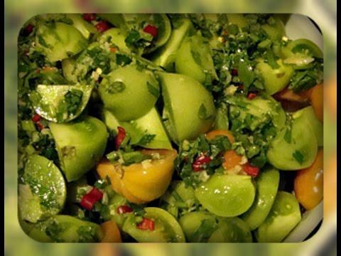 Зеленые помидоры по корейски рецепт с фото