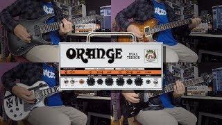 Orange Dual Terror: Clean, Crunch, Rock & Metal!