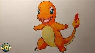 Wie zeichnet man Glumanda [Pokemon]