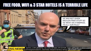 Sky News Blame Asylum Seekers Living Conditions In The UK For Glasgow Incident