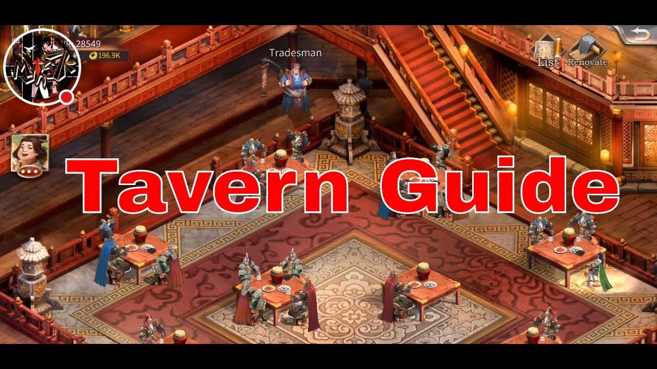 Three Kingdoms Epic War - Myths7k: Tavern Ultimate Guide (Super  Important!!!)