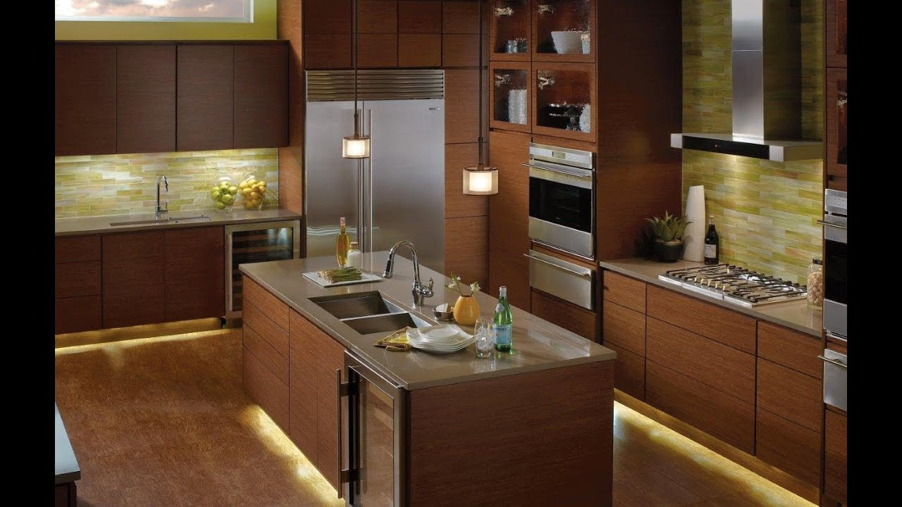 kitchen under cabinet lighting options - countertop lighting ideas