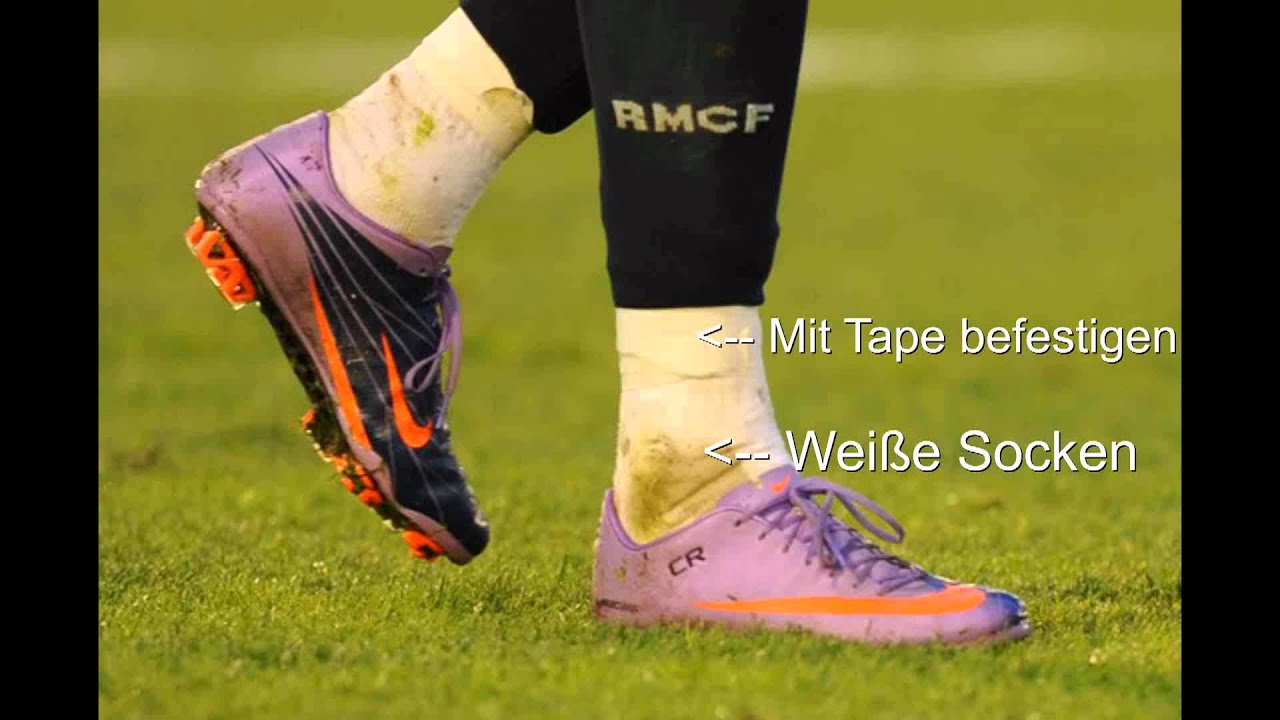Cristiano Ronaldo Wei 223 Es Tape And Socks Tutorial 1080p