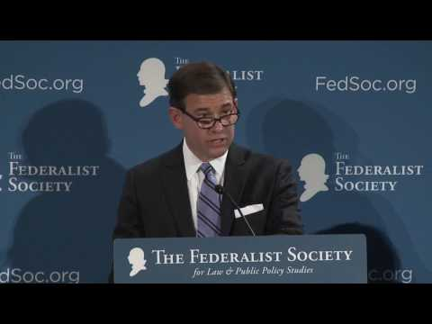 Justice Scalia on Federalism and Separation of Powers