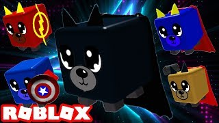 HOW to MAKE the PETS SUPER HEROES of the ROBLOX and NEW CODES in the NEW MAGNET UPGRADE SIMULATOR