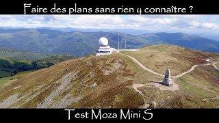 Faire des plans sans expériences avec un Iphone  : Test moza mini S