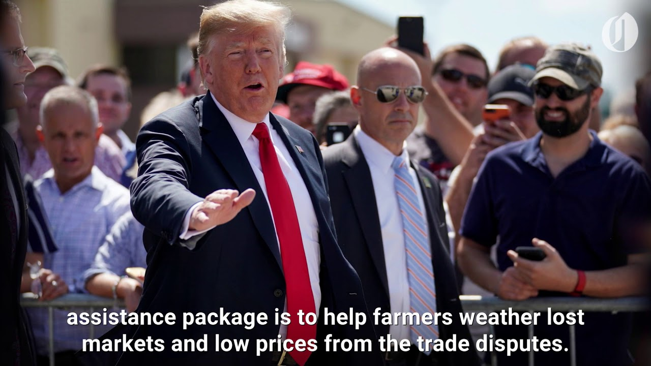 """Iowa farmers think Trump aid package is """"like welfare,"""" """"not wholesome"""""""