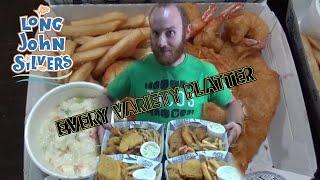 Every Variety Platter   Long John Silver's   Fast Food Menu Challenge