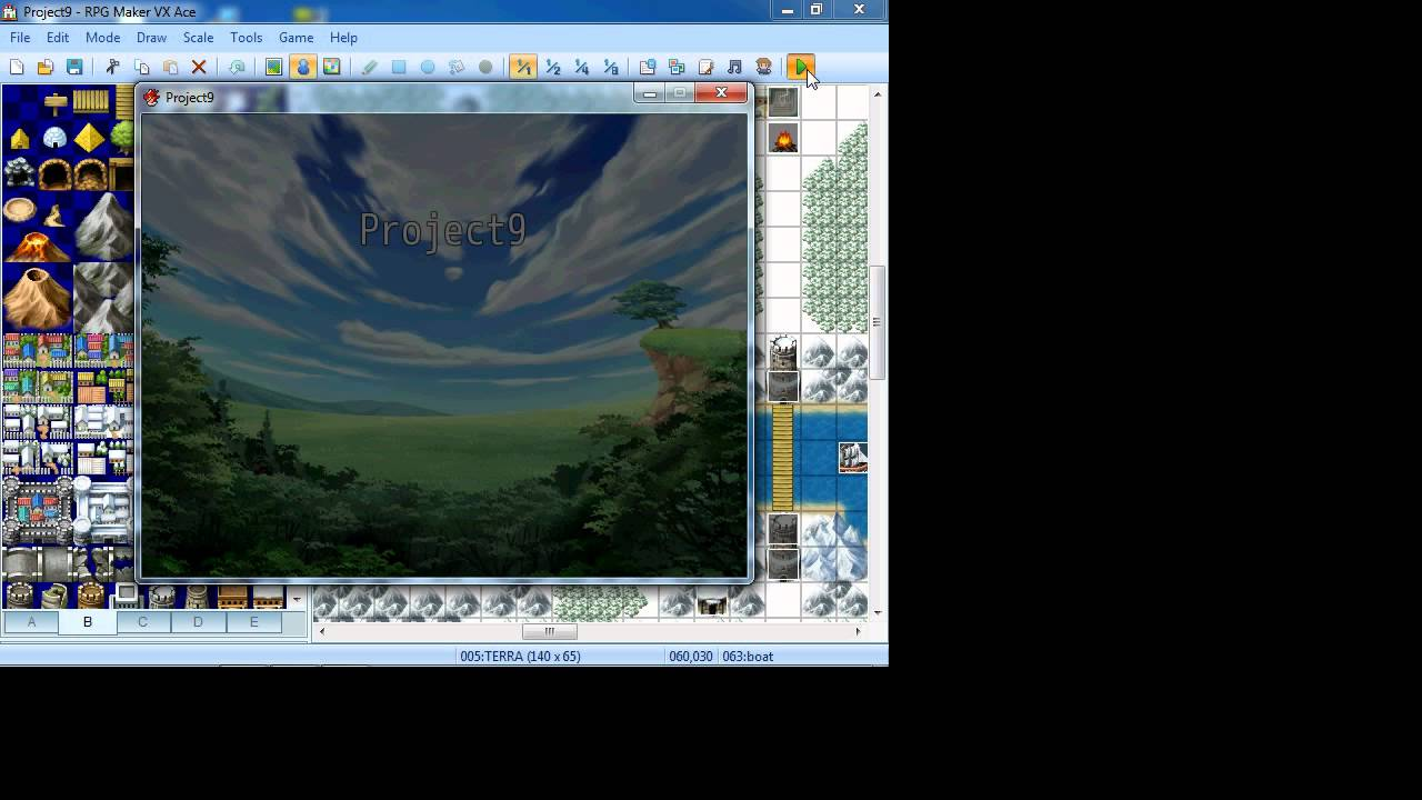 RPG MAKER VX ACE TRIGGER EVENT ON EVENT CONTACT