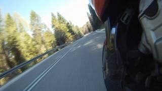 Bieszczady na motocyklu