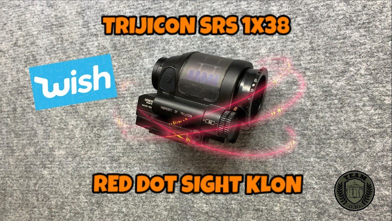 [OVERVIEW] TRIJICON SRS 1x38 RED DOT KLON