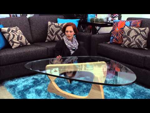 The Design Store: Living With Style - New Zealand colourful sofas with style.