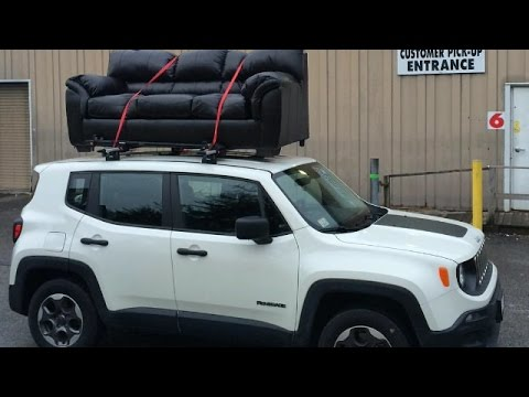 Jeep Renegade Roof >> Installing A Roof Rack On A Jeep Renegade Sport Model Youtube