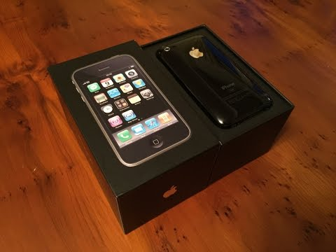 Unboxing: iPhone 3G