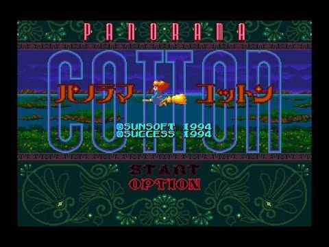 Mega Drive Longplay [181] Panorama Cotton