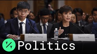 Hong Kong Activists Joshua Wong, Denise Ho Testify Before Congress