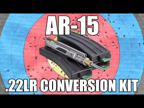 A Quick Look At The CMMG Bravo Conversion Kit. 5.56/.223 to .22LR