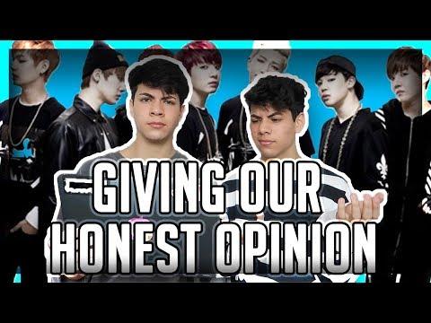 Reacting To Kpop (BTS)