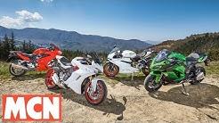 2017 Ducati Supersport S Comparison Test | Review | Motorcyclenews.com