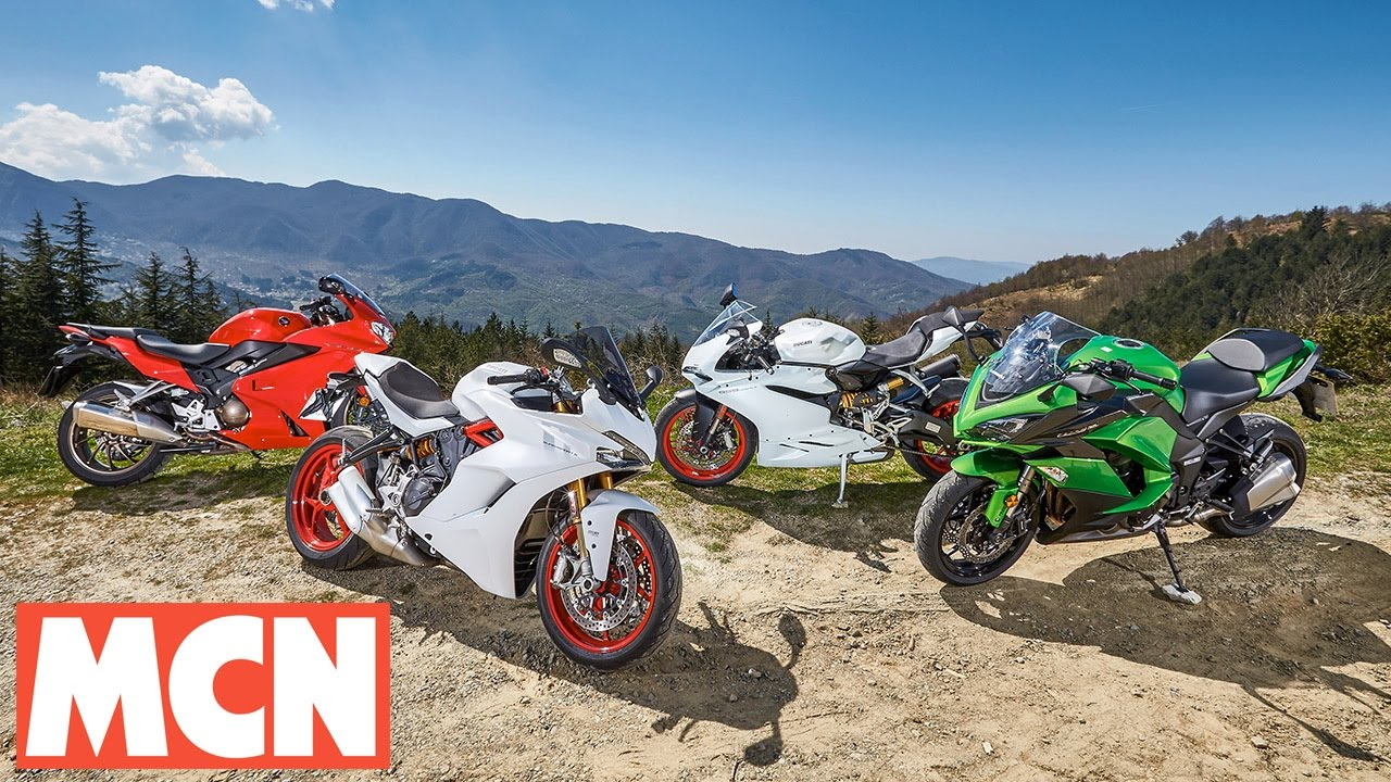 2017 ducati supersport s comparison test | review | motorcyclenews