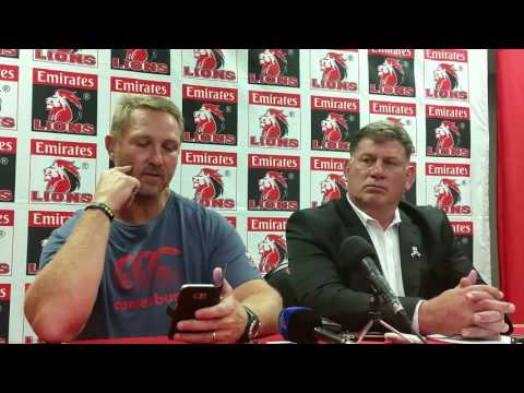 Johan Ackermann's emotional message to the fans (Afrikaans, with English subtitles)