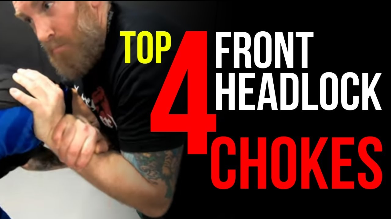 Download Top 4 Chokes From Front Headlock Series For Self Defense · BJJ · MMA