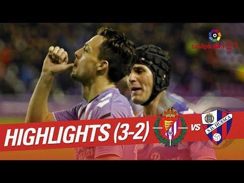 Resumen de Real Valladolid vs SD Huesca (3-2)