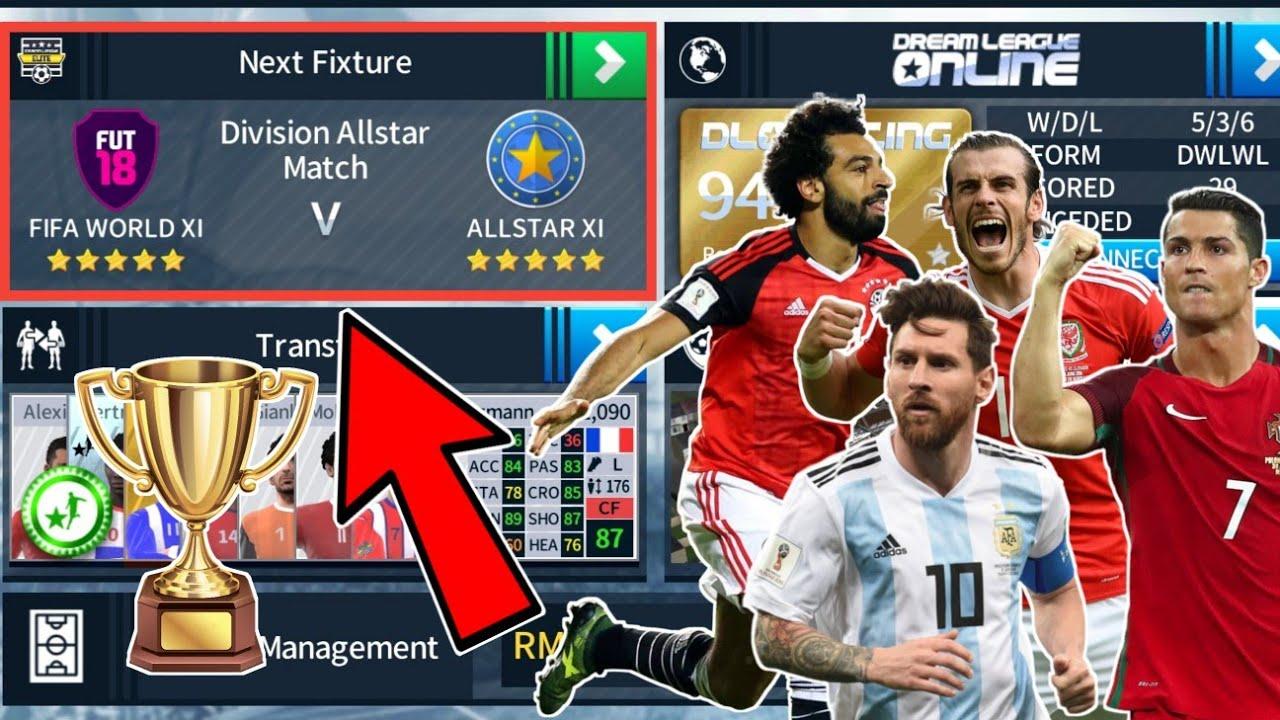 FIFA World XI 🆚 Allstar XI 🔥 Final 🏆 Dream League Soccer 2018