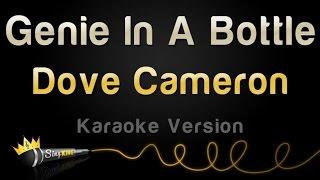 dove cameron genie in a bottle karaoke version