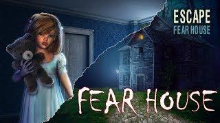eSCAPE GAMES FEAR HOUSE ПРОХОЖДЕНИЕ