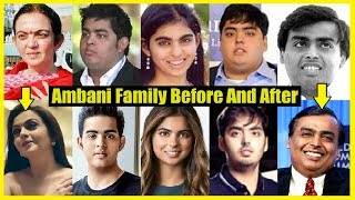 Ambani Family Before And After - Unbelievable Transformation
