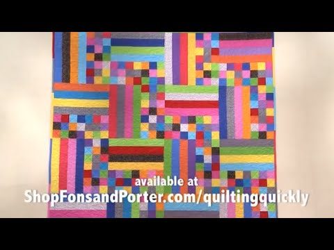How To Make The Rain Stick Quilt Youtube
