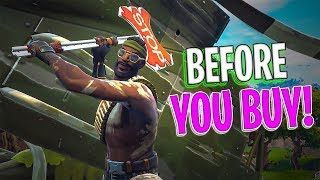 Bandolier | Stop Axe Harvesting Tool - Before You Buy - Fortnite