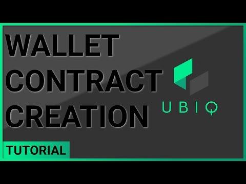 Wallet Contract Creation - Single User - Fusion GUI Wallet | Windows