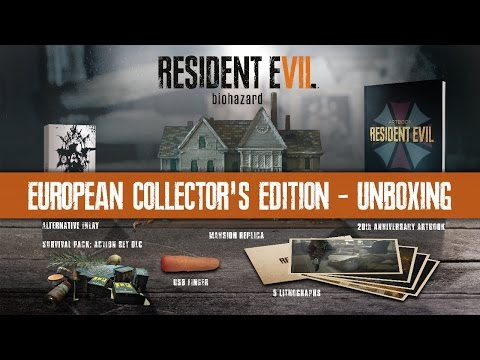 European Collector's Edition - Unboxing