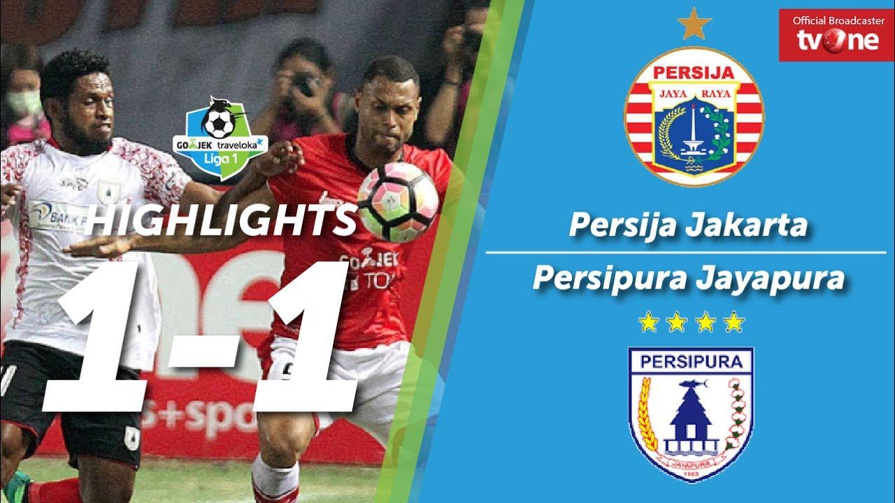 Persija Jakarta Vs Persipura Jayapura   All Goals Highlights