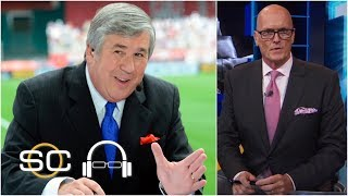 Scott Van Pelt Salutes 'the General' Bob Ley After 40 Years At Espn | Sc With Svp