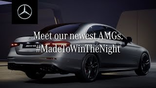 The Mercedes-AMG E 53 4MATIC+ and AMG E 63 S 4MATIC+ | #MadeToWinTheNight